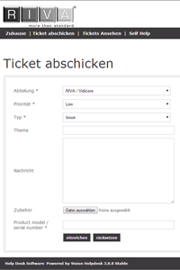 Ticketsystem-web